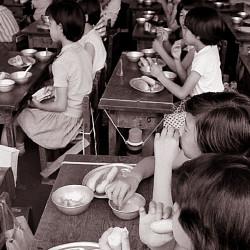 学校給食(昭和41年)