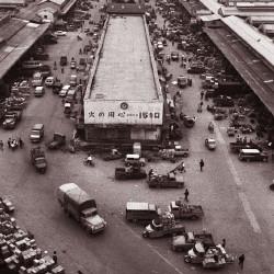 中央市場の全景(昭和36年)