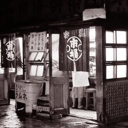 市場の食堂(昭和32年)